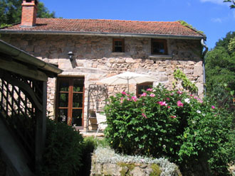 gite viewed from garden